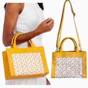 Jessica Simpson Candie Dandelion Satchel Bag